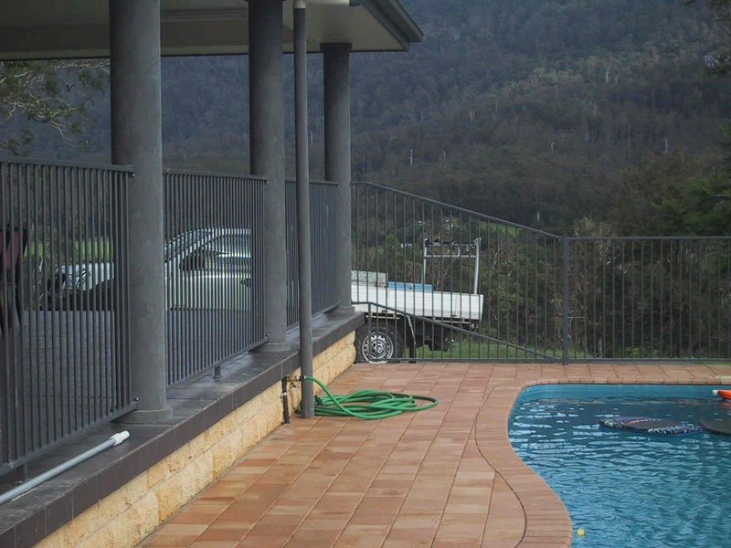 Aluminium Pool Fencing Advance Metal Industries