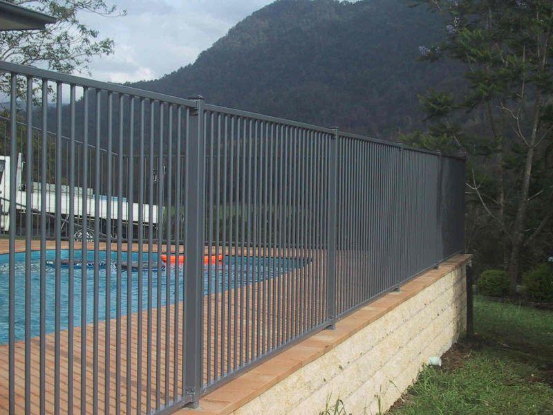 Aluminium Pool Fencing Advance Metal Industries