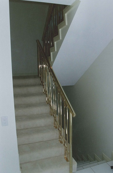 Brass Amp Steel Stair Rails Advance Metal Industries
