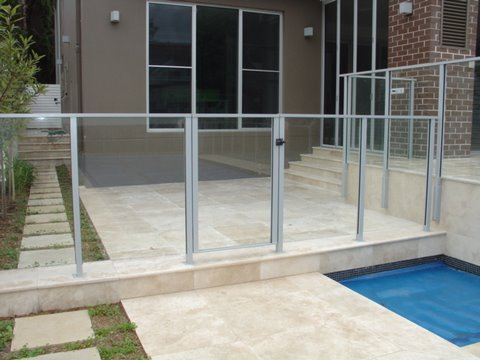 Glass Swimming Pool Fencing | Advance Metal Industries ...