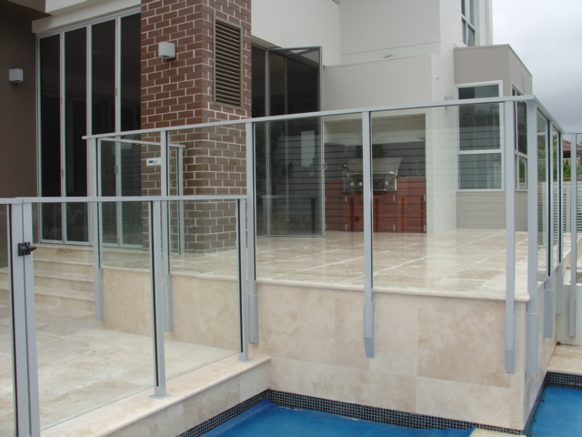Glass Swimming Pool Fencing Advance Metal Industries Australia
