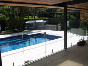Glass Pool Fencing Mini Post Advance Metal Industries