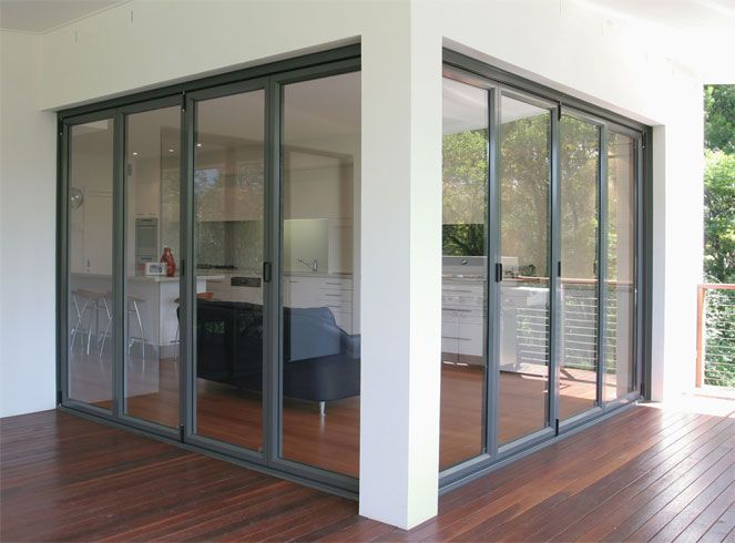 Bi-fold doors provide the maximum unobstructed view. & Residential | Advance Metal Industries Australia | Aluminium and ...