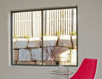 Sliding Windows can be installed in living spaces.