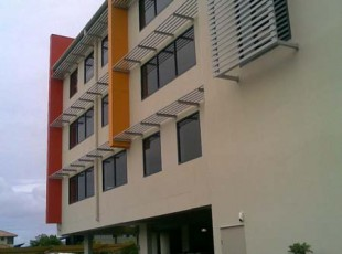 One of the many projects capturing style and colour to enhance the finished look to any building.