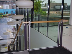 Glass Balustrades and Timber Handrail Nepean Hospital AMIA Coffs Harbour (3)