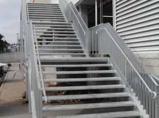 Steel Staicase and Handrails Costco AMIA Coffs Harbour